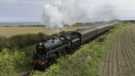 The 76084 out on a journey. Picture: North Norfolk Railway,