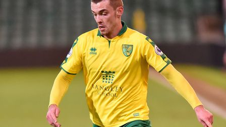 Harry Toffolo was in U23s action for the Canaries at Carrow Road last week. Picture: Nick Butcher