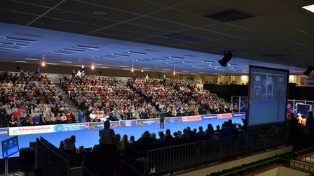 The international arena at Potters. Picture: Potters Resort