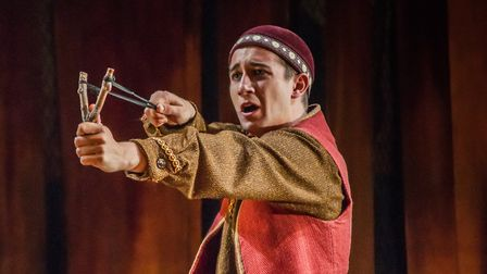 The Kite Runner is coming to Norwich Theatre Royal in March 2018. Pictured is a scene from the 2017