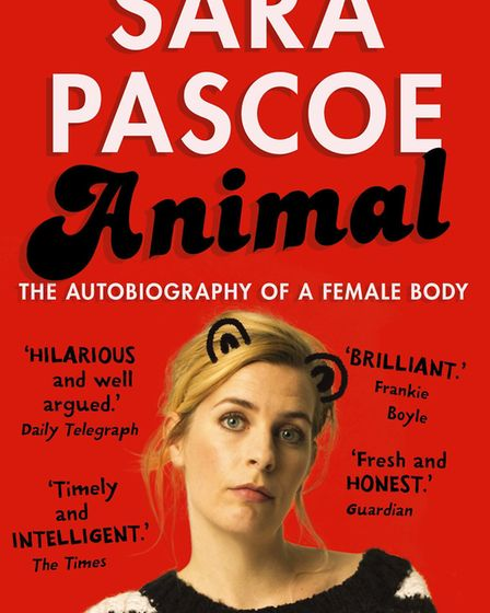 Her bestselling book Animal was the basis for the last show by Sara Pascoe. Photo: Matt Crockett