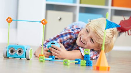 Botley, a computer coding robot made by King's Lynn firm Learning Resources. Picture: LEARNING RESOU