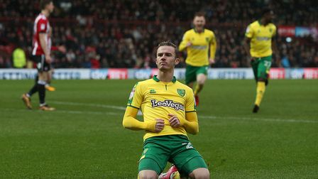 James Maddison whipped home a sublime winner to sink Brentford. Picture: Paul Chesterton/Focus Image