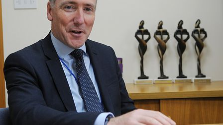 Jon Green, chief executive at the Queen Elizabeth Hospital. Picture: Chris Bishop