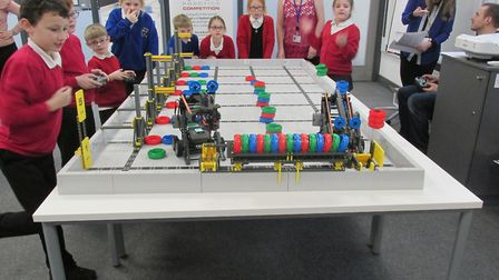 Pupils from Alderman Swindell are celebrating their success at a robotics competition. Photo: Alderm