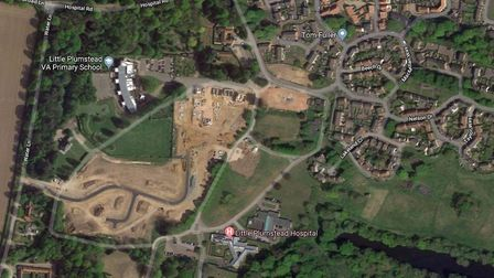 The hospital site in Little Plumstead. Photo: Google.