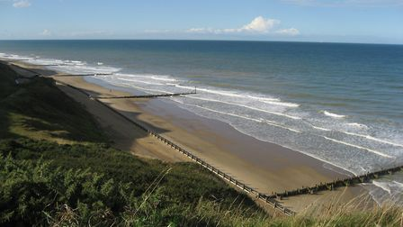Mundesley beach. The village is a contender in Chanel 4's Village of the Year competition. Picture:
