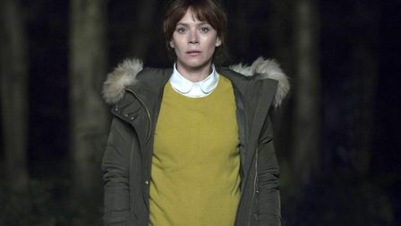 Marcella Backland wearing a coat that cost twice what I paid for my first car