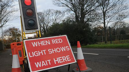Drivers are set to face delays because of road works. Picture: Chris Bishop