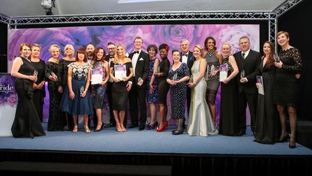 The winners at the EDP Bride: The Wedding Awards 2018 at the Holiday Inn Norwich North. Picture: MAT