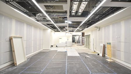 A look around the new Quadram Institute which is near completion.Picture: ANTONY KELLY