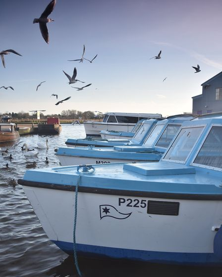 Potter Heigham. Picture: ANTONY KELLY