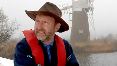 Chief Executive of the Broads Authority, John Packman. Picture: Archant Library