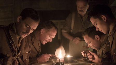 Journey's End is directed by former UEA student Saul Dibb. Photo: Lionsgate/Nick Wall
