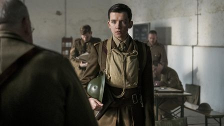 Asa Butterfield stars as inexperienced officer Raleigh in Journey's End. Photo: Lionsgate/Nick Wall