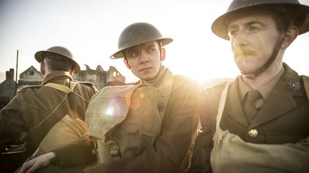 Journey's End is set in the trenches of the FIrst World War and was partly filmed near Ipswich. Phot