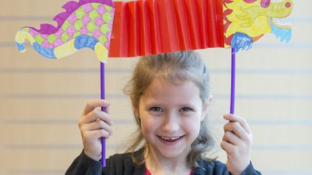 King's Lynn youngsters prepare for Chinese New Year celebrations. Picture: Matthew Usher