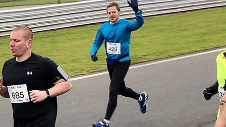 Mark Armstrong is targeting the half marathon at Cambridge in March. Picture: Supplied