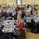The Wymondham Community Kitchen lunch attendees with their free EDPs. Picture: DENISE BRADLEY