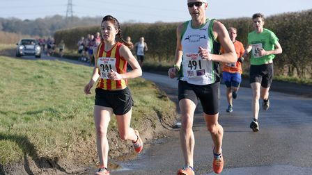 Eleanor Grubb (City of Norwich AC) led the female field home. Picture: Ian Edwards Photography
