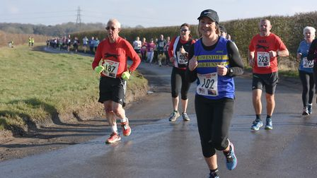 Lowestoft Road Runners' Jo Clark at the Valentine 10K. Picture: Ian Edwards Photography