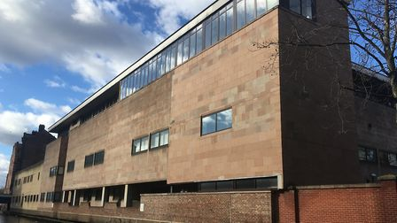 Nottingham Crown Court where the East Harling Murder Trial is taking place. Picture Peter Walsh.