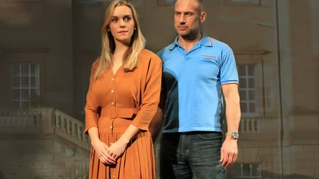Florence Cady and Paul Opacic in Gallowglass