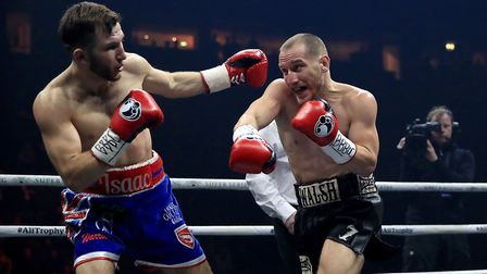 Ryan Walsh in action against Isaac Lowe. Picture: PA
