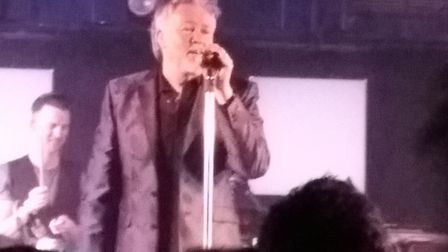 Paul Young and support from China Crisis at The Waterfront, Norwich. Photo: Angela Kennedy