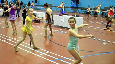 More than 100 young athletes from across Norfolk, Suffolk and Northampton travelled to Lowestoft as