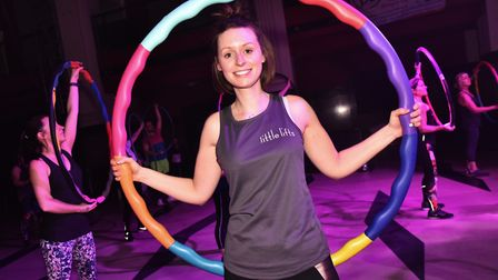 A sponsored Hoopathon takes place at Open in Norwich in aid of Little Lifts. Organiser Oa Hackett.By