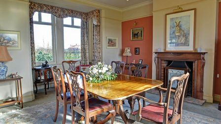 The dining room. Pic: Brown & Co.