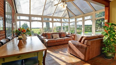 The conservatory. Pic: Brown & Co.