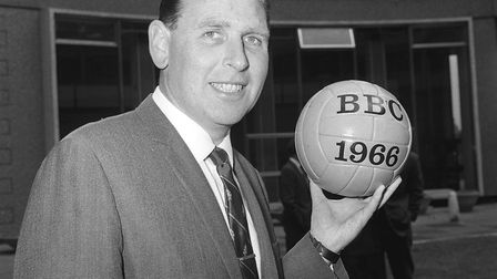 BBC commentator for the 1966 World Cup, Kenneth Wolstenholme. Picture: PA