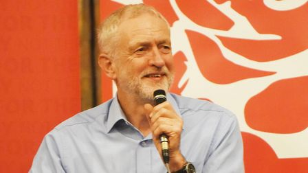 Jeremy Corbyn, Leader of the Labour party Picture: Ian Burt