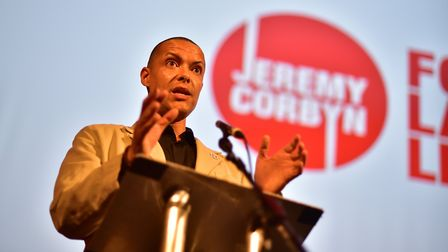 MP for Norwich South Clive Lewis. Picture: ANTONY KELLY