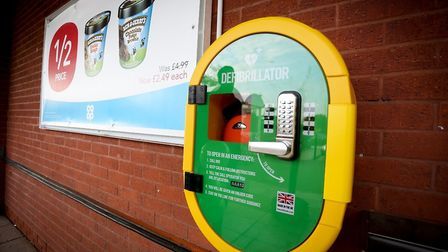 Defibrillators have been installed in Co-op stores across Norfolk and Suffolk in secure, heated cabi