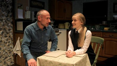 Paul Opacic and Eva Sayer in Gallowglass
