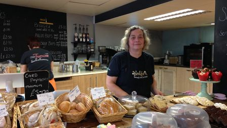 Heather Green, Manager at The Tudor Bake House, in Long Stratton.