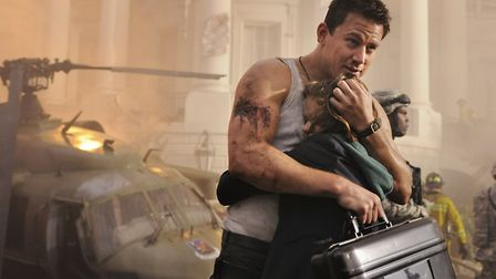 """Channing Tatum and Joey King star in Columbia Pictures' """"White House Down,"""" also starring Jamie Foxx"""