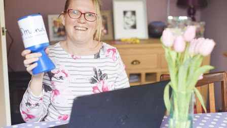 Emma Oldershaw has launched a scheme to provide badges to help people who are happy to be approached
