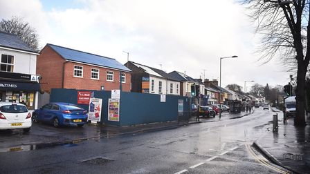 Traders and Green Party members are angry over the former Burrells shop development on Unthank Road.