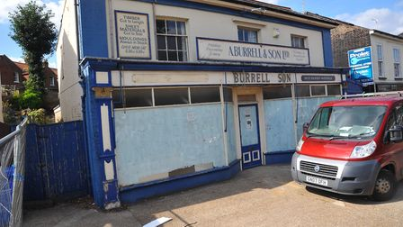 What the old Burrell's shop on Unthank Road looked like before demolition. Photo: Steve Adams