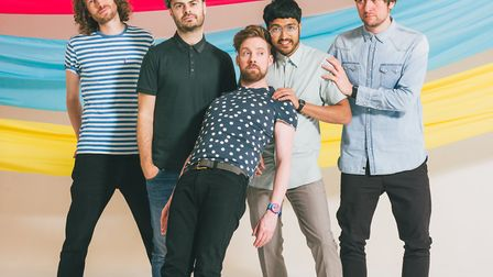Kaiser Chiefs who will headline Earlham Park in Norwich in May. Photo: Danny North