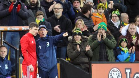 The Norwich City fans give Jonny Howson a warm welcome on his Carrow Road return with Middlesbrough,