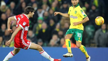 It was only half an hour, but Moritz Leitner most certainly impressed on his first Carrow Road appea