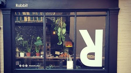 Roots coffee shop on Pottergate in Norwich has reopened as Rabbit Coffee. Photo: Claire Yaxley