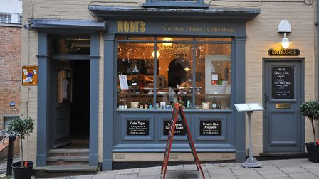 How the business looked before as Roots, Pottergate, Norwich. Picture by SIMON FINLAY.