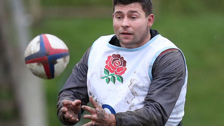 A knee ligament injury has ruled Ben Youngs out of the rest of England's Six Nations campaign. Pictu