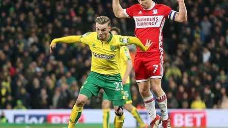 James Maddison is in the running for PFA Championship player-of-the-month. Picture: Paul Chesterton/